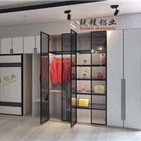全鋁家具豪華極簡窄邊玻璃門 鋁材.成品