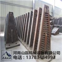 1500球磨机筒体高锰钢耐磨隔仓衬板配件