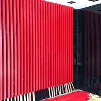 国标6061铝方管 装饰专用彩色木纹方管