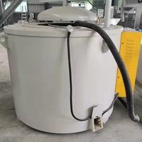 300KG铝合金熔化炉 坩埚炉