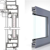 EW58防火窗兴发系统门窗