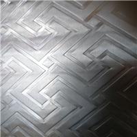 5052回字纹滚花铝板 磨砂镜面氧化铝板