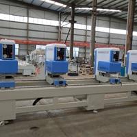 全套制作塑钢门窗机器设备报价包含几台机器