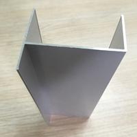 喷塑50窗框小h铝净化型材