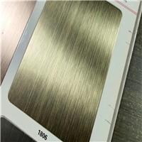 杭州金色拉絲鋁單板-古銅色磨砂鋁單板廠家