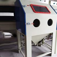 手动喷砂机铝制品箱式环保喷砂机去油
