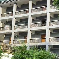 校区外墙改造使用铝合金花格窗