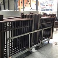 橋上裝飾鋁花格護欄定制