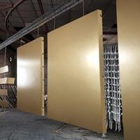 红旗4S店门头氟碳铝单板-铝蜂窝板厂家