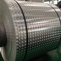 花纹铝卷生产花纹铝板卷价格 厂家