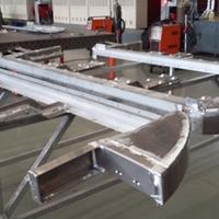 汽车铝合金车架焊接加工