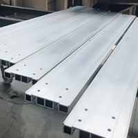 鸿发有色定制铝型材 铝制品机加工
