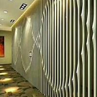 弧形木纹铝方通厂家_仿木纹铝合金弧形方通