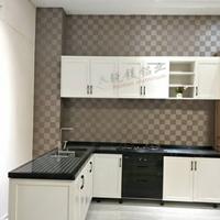 整体全铝家具橱柜 橱柜门板铝材直销
