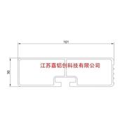 铝罐车增强梁及护栏型材专业临盆