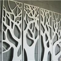 铝板雕刻铝花格子定制装饰
