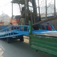 8吨移动登车桥 黑水县电动液压登车过桥