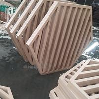 六角形拼接大型铝窗花订制商