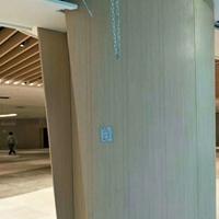 枣庄弧型包柱铝板幕墙 柱子铝单板装饰效果