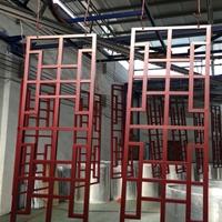 上海防盗网铝窗花幕墙 方通铝窗花厂家供应