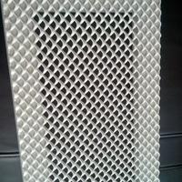 林芝冲孔铝网板装潢 六角形铝网板厂家直销