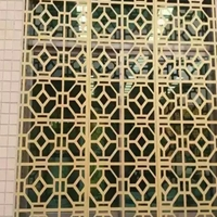 岳阳镂空雕刻铝窗花订做  喷涂铝窗花供应商