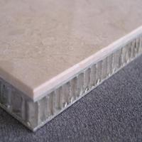 四川石材铝蜂窝板工艺  仿石材蜂巢铝板材料