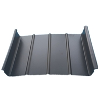 机场航站楼屋面65-430直立锁边铝镁锰板