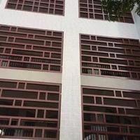 重庆中式木纹铝窗花幕墙  外墙铝花格厂家