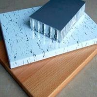 盐城聚酯铝蜂窝板装潢 隔热铝蜂窝铝板报价