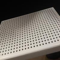 深圳幕墙冲孔铝单板 打孔铝单板装饰效果