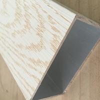 150?20手感木纹扁通铝方通型材