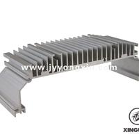 供应高倍齿散热器型材工业型材