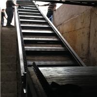 铝屑金属废料收集链板输送机