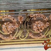 双色镜面钛金 别墅护栏楼梯样品展示