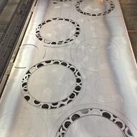 环柱旋转门铝型材部件