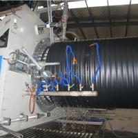 塑料检查井中空壁缠绕管生产线