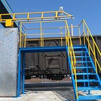 运煤车防冻液喷洒装置