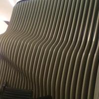 定做造型鋁方通-木紋弧形鋁方通工廠