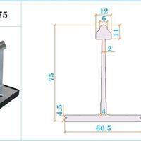 铝镁锰板支架固定底座金属屋面配件