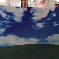 3D打印铝单板-仿蓝天白云铝板
