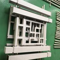 熱轉印木紋鋁花格圍欄定制