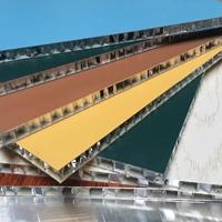 厂家直销铝蜂窝板4厘10厘16厘PVC板门板等
