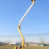 14米曲臂升降机 枝江市自行式升降机