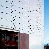 专业定制外墙冲孔板_不规则艺术冲孔板
