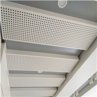 幕墙冲孔异形铝板-造型穿孔氟碳铝单板