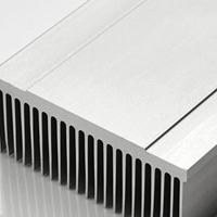 插片散热器铝型材 电子散热片铝型材