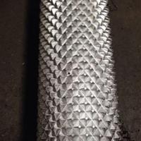 鋁滾花棒6063網紋滾花菠蘿紋滾花鋁棒