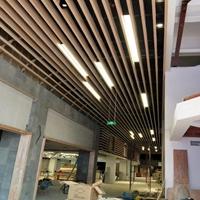 走廊吊顶铝方通 金属吊顶装饰材料