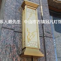纯紫铜外墙壁灯和户外拉丝电镀壁灯效果图